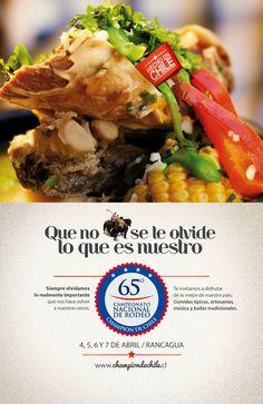 Campaña Rodeo 2013 / Hecho en Chile  Objetivo: Hacer que la gente perciba el Rodeo como el deporte nacional, donde se vive una gran fiesta costumbrista.