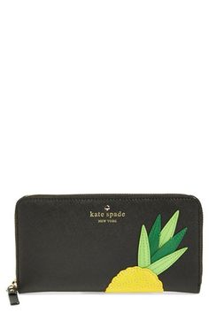 kate spade new york 'wing it - lacey' zip around wallet available at #Nordstrom
