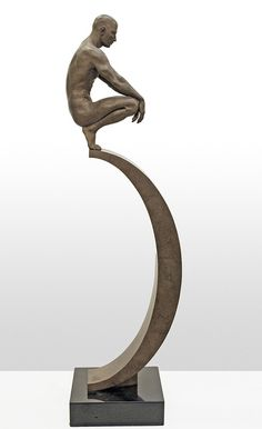 Roger Reutimann, Contemplation, 2008, 46 x 8 x 14 inches