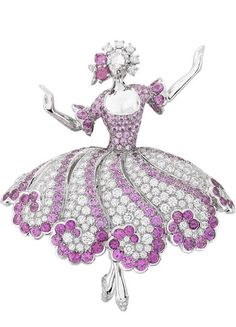 Van Cleef & Arpels - Ballerina Clip--Christmas Gifts idea for the Nutcracker Ballet Lover