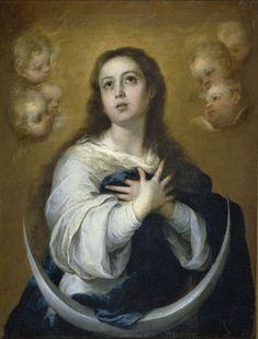 Inmaculada Concepción (Murillo, 1662) - Arte mariano - Wikipedia, la enciclopedia libre