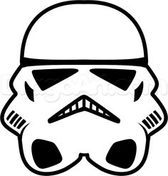 How to Draw a Stormtrooper Easy, Step by Step, Star Wars ...