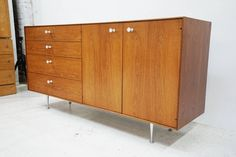 George Nelson Thin Edge Credenza for Herman Miller 2