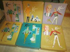 Vintage Ken Cases - art logos