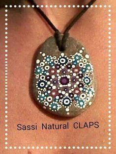 Mandala creato da Sassi Natural CLAPS
