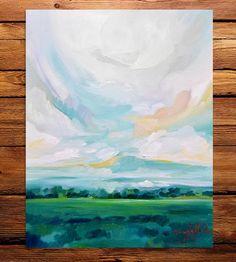 To The Stillness Art Print by Emily Jeffords Studio on Scoutmob Shoppe