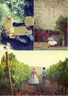 whimsical tuscany wedding