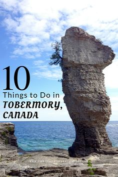 Tobermory is such a beautiful place. Its gorgeous natural areas, variety of outdoor adventure activities, quaint small town charm… the list goes on. Here are the top 10 things you need to do when you visit Tobermory! Quebec, Montreal, Vancouver, Places To Travel, Travel Destinations, Toronto, Stuff To Do, Things To Do, Ontario Travel