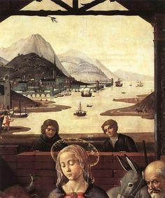 Domenico Ghirlandaio c. 1488      Adoration of the Magi (detail)