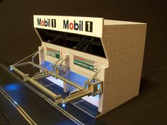 Painting Carrera Pit Buildings? - Slot Car Illustrated Forum