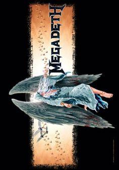 Megadeth - Angel Textile Poster Megadeth https://www.amazon.co.uk/dp/B003A6KSCG/ref=cm_sw_r_pi_dp_U_x_uOXJAb1Q2GCQY
