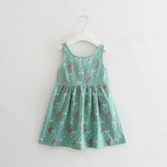 Baby Girls Cotton Sundress, Varied Colors – Everything For Your Baby Girl