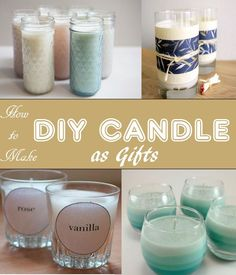 Candles are great stuff to beautify our home and can also be good air fresheners or scents. Therefore most of us pick candles as gifts to almost all occasions. Budget wise, you can make DIY candles and it's easy.