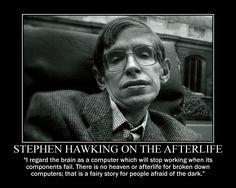 was stephen hawking an atheist