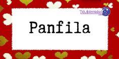 Conoce el significado del nombre Panfila #NombresDeBebes #NombresParaBebes #nombresdebebe - http://www.tumaternidad.com/nombres-de-nina/panfila/