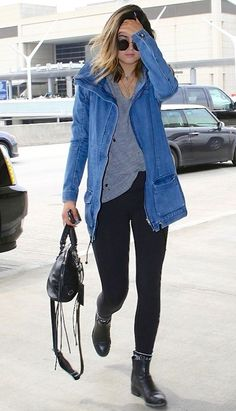 A spin on what's already in your closet. Love this relaxed look