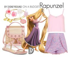 """Rapunzel"" by leslieakay ❤ liked on Polyvore featuring Alex and Ani, Accessorize, Monsoon, River Island, Dorothy Perkins, disney, disneybound and disneycharacter"