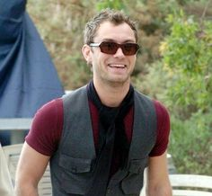 Jude Law in 'Ingema' Oliver Goldsmith Sunglasses