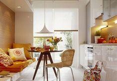 оригинальный диван на кухне 12 кв метров