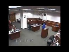 Louisville lady Judge gets mad at Jailhouse and Guards - Viralol