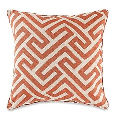 Makeover your ordinary throw pillow with the eye-catching MYOP Keyes Square…