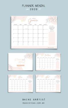 Work Planner, Agenda Planner, School Planner, Student Planner, Life Planner, Weekly Planner, Planner Diy, Blog Planner Printable, Planner Template
