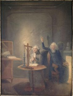 Louis XVI and Confessor