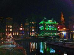 Amsterdam by night - Davide e Stefania #amsterdam #night