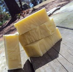 Citronella handmade soap for repelling bugs.  I need to make this for me and my boys because the bugs love us.