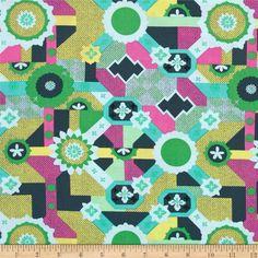 Free Spirit Amy Butler Glow Cross Poplin Quilting Fabric Citrus Home & Kitchen Arts & Crafts per metre