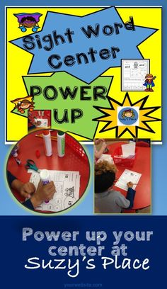 Practicing sight words is taken to the next level as your students read write cut and glue with these super hero pages! These are perfect for morning work, homework or center time First Grade Lessons, First Grade Activities, Word Work Activities, Interactive Activities, Literacy Activities, Kindergarten Teachers, Elementary Teacher, Art Classroom, Classroom Resources