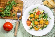 Välimerellinen Poppis-salaatti