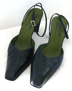 Donald J Pliner Ankle Strap Heels Lumino Shoes Sz 6.5M Made In Italy #DonaldJPliner #Anklestrap #Casual