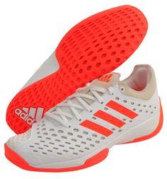 best service 3ec17 32085 adidas FENCING PRO 16 Mens Fencing Shoes Fencer Foil White Coral Indoor  AF5535 adidas Mens