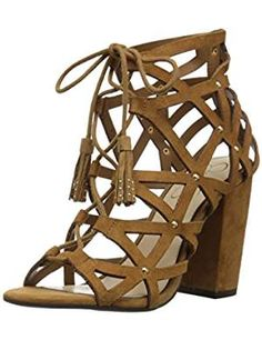 online shopping for Jessica Simpson Women's Kariba Dress Sandal from top store. See new offer for Jessica Simpson Women's Kariba Dress Sandal Pump Shoes, Women's Pumps, Father Daughter Dance Dresses, Side Zip Boots, Honey Brown, Brown Heels, Dress Sandals, Heeled Sandals, Suede Heels