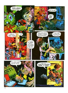 Bucky O'Hare (Continuity Comics - 1986) Writer: Larry Hama Illustrator: Michael Golden