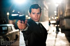 Henry Cavill in The Man From U.N.C.L.E. - loved the series and love him so I hope it's a good movie!