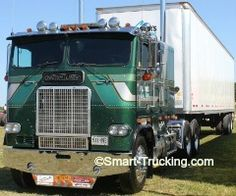 1983 Freightliher Cabover Truck. Great Lakes Truck Show, Clifford, ON, 2012.