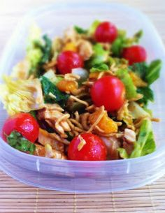 Operation: Lunch Box: Day 37 - Asian Ginger Salad