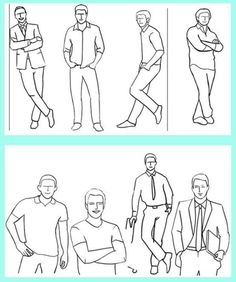 Men's posing ideas