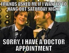 Sorry, I have a Doctor appointment
