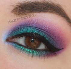Makeup Fancy Blog: Lava Peacock with BFTE Cosmetics