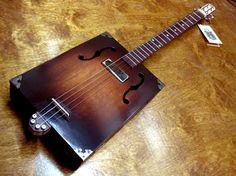 Cigar Box Guitars: F-hole Model