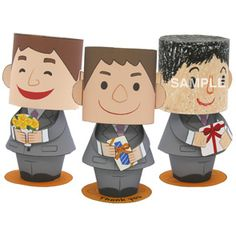 Canon Papercraft Fractional Cake Free Paper Toy Download