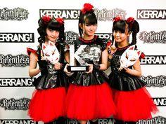 BABYMETAL、日本人初の「KERRANG!AWARDS 2015」受賞   BABYMETAL   BARKS音楽ニュース