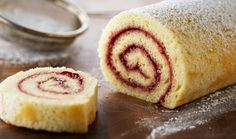 Classic Rasberry Jelly Roll « The Home Channel | DStV Channel 176 | Recipes, DIY, Crafts, Decor