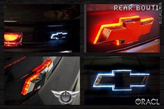 Custom Industries — Illuminated Emblems - Corvette C6, SS, Bowtie Truck Mods, Car Mods, Truck Parts, New Trucks, Chevy Trucks, Dually Trucks, Chevrolet Silverado 1500, Chevy 1500, Chevy Avalanche