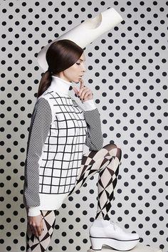 Fashion Editorial: Dots of Interest For Solis Magazine by Verginiya Yancheva, via Behance