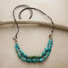 TWO-STRAND TURQUOISE NECKLACE