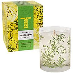 Thymes Indigenous Aromatic Candle Anjou Vert -- Read more reviews of the product by visiting the link on the image.